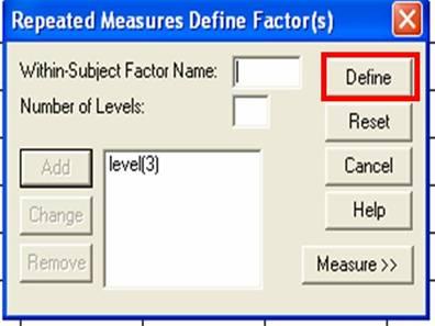 Background |Enter Data | Analyze Data | Interpret Data | Report Data